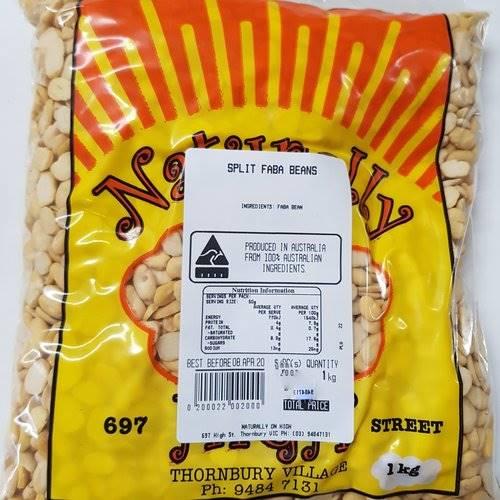 Split Fava Beans 1kg