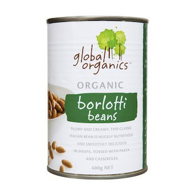 global organic Borlotti beans