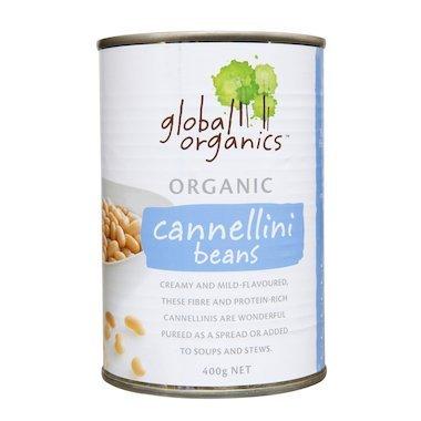 global organic Cannellini beans