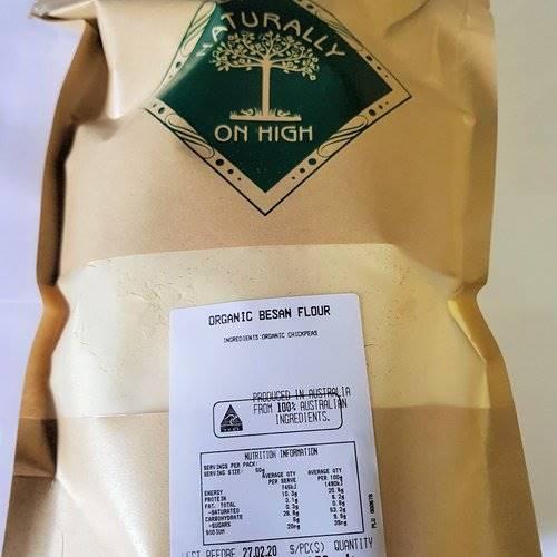 Organic Besan (Chickpea) Flour 1kg