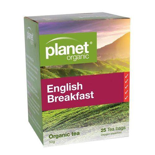 planet organic tea english breakfast