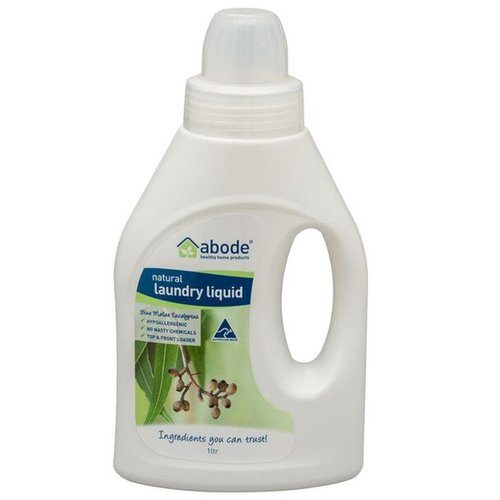 Abode Natural Laundry Liquid Eucalyptus 1Litre