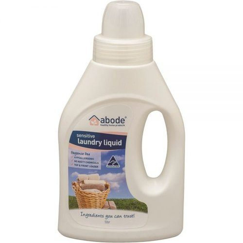 Abode Natural Laundry Liquid Sensitive 1Litre