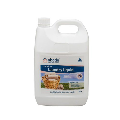 Abode Natural Laundry Liquid Sensitive 5Litre