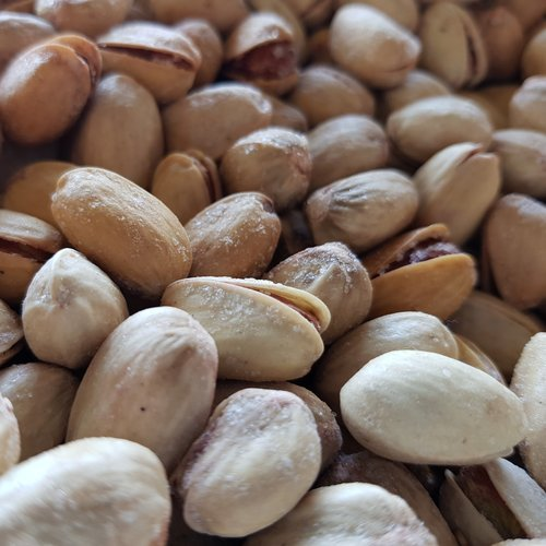 Organic Roasted Salted Pistachios 500g