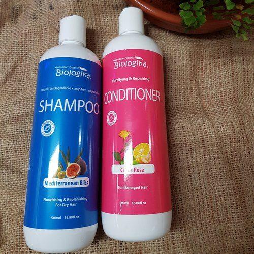 biologika organic shampoo 500ml