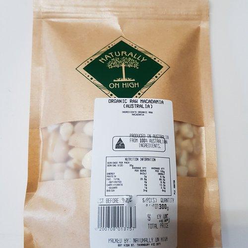 Organic Raw Macadamia (Australia)