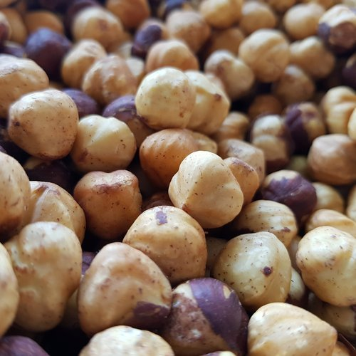 Organic Roasted Hazelnuts