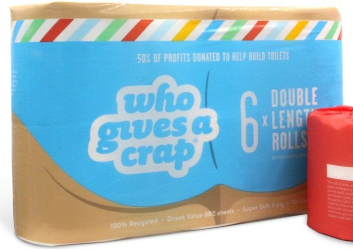 Toilet Paper – Who Gives a Crap – 6 Rolls