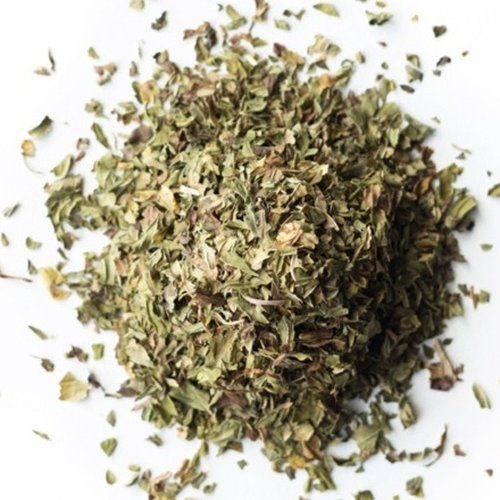 organic peppermint tea leaf