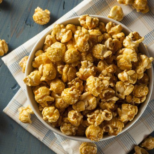 Caramalised Popcorn