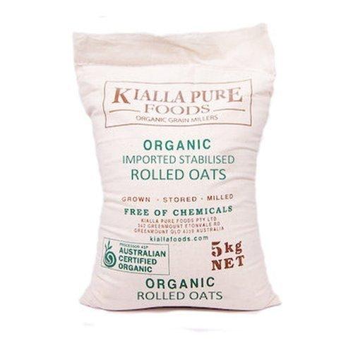 Kialla Organic Rolled Oats 5kg