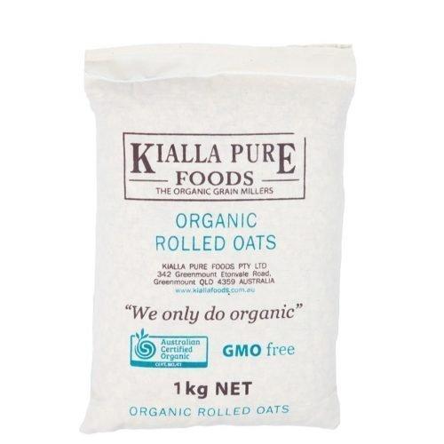 Kialla Organic Rolled Oats 1kg