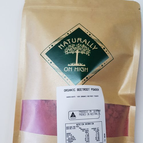 Organic Beetroot Powder 500g