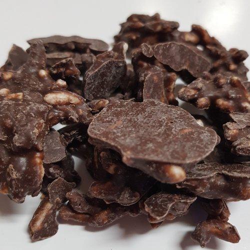 Carob Crackle Puffs