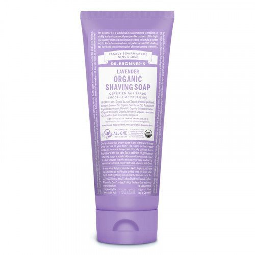 Dr Bronners Organic Shaving Soap - Lavender