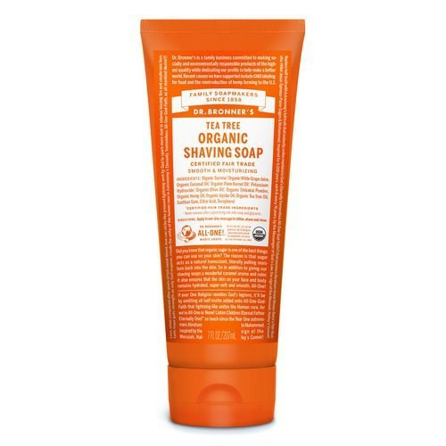 Dr Bronners Organic Shaving Soap - Tea Tree