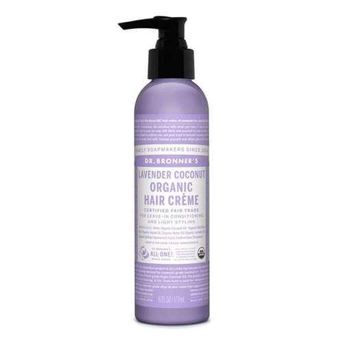 Dr. Bronner's Organic Hair Creme Lavender Coconut