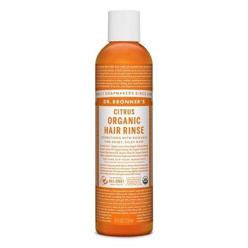Dr. Bronner's  Organic Hair Rinse Citrus  237ml