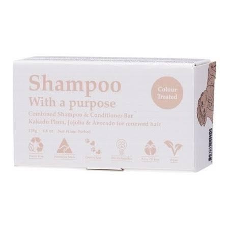 shampoo with a purpose - colour treated