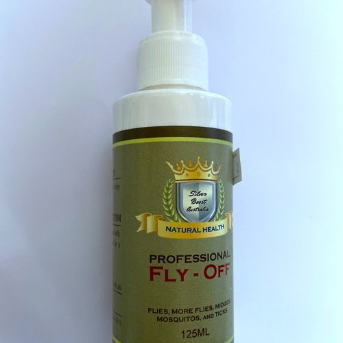 Silver Boost Natural Health Professional Fly-Off 125ml