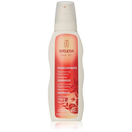 weleda natural body lotion pomegranate