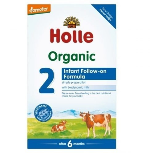 HOLLE Organic Infant Follow-on Formula 2 (From 6 Months) 600g