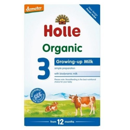 HOLLE Organic Infant Growing-up Milk Formula 3 (From 12 Months) 600g