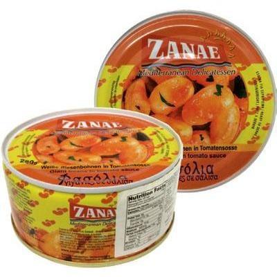 Zanae Giant Beans in Tomato Sauce