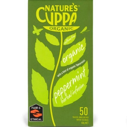 natures cuppa organic Peppermint spearmint