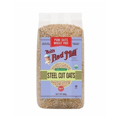 Bobs Red Mill Organic Steel Cut Oats 680g