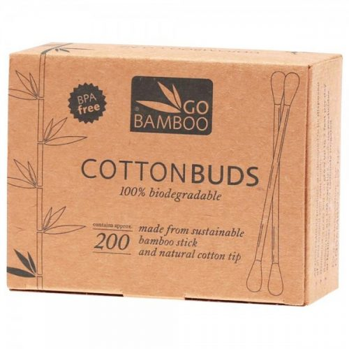 Go Bamboo Cotton Buds 200pcs