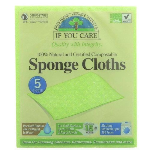 If You Care Compostable Sponge Clothes