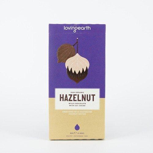 Loving Earth Organic Plant Based Mylk Chocolate - Hazelnut 80g