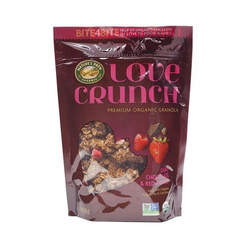 Nature's Path Love Crunch Organic Granola – Dark Chocolate with Red Berries 325g