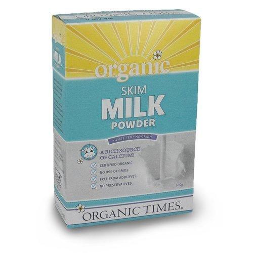 Organic Times Organic Skim Milk Powder 300g