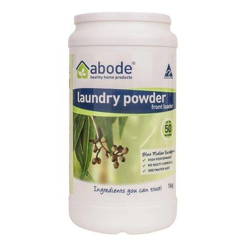 abode laundry powder 1kg eucalyptus