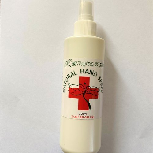 Nature's Gift Natural Hand Sanitiser Spray 200ml
