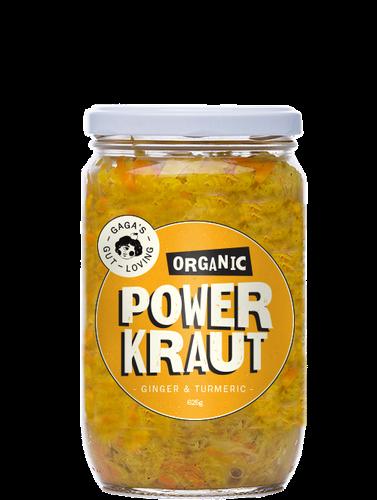 Gaga's Organic Power Kraut
