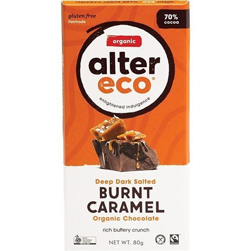 Alter Eco Organic Chocolate – Deep Dark Salted Burnt Caramel