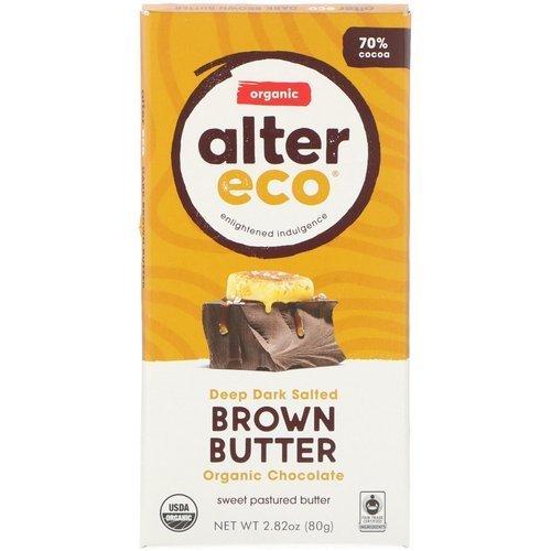 Alter Eco Organic Chocolate – Deep Dark Salted Brown Butter