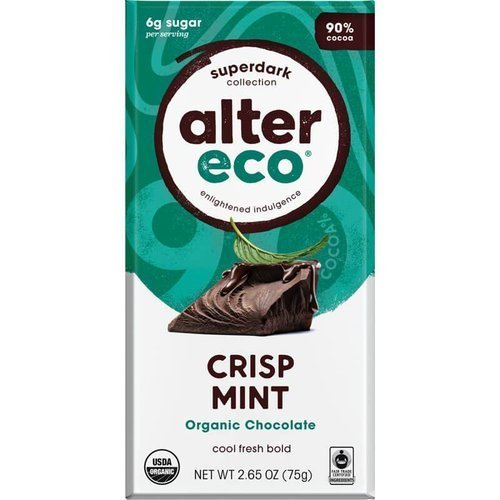 Alter Eco Organic Chocolate – SuperDark Crisp Mint