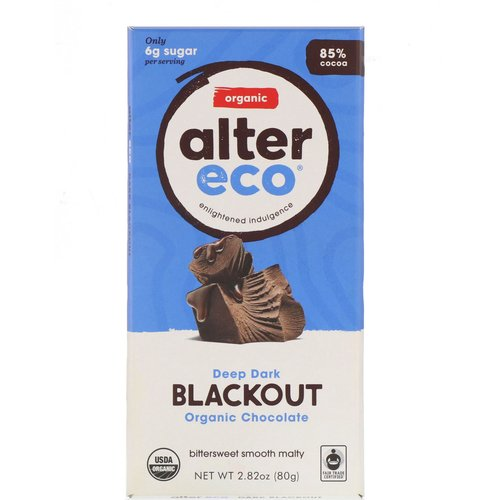 Alter Eco Organic Chocolate – Deep Dark Blackout