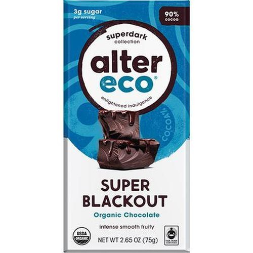 Alter Eco Organic Chocolate Super Blackout