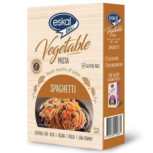 eskal deli vegetable pasta gluten free spaghetti 255g