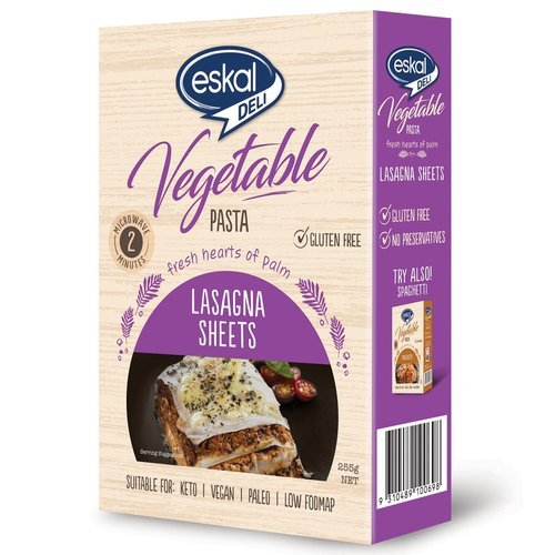 Eskal Deli Vegetable Gluten Free Pasta – Lasagna Sheet 255g